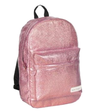 New-Rebels 'Glitter' Rucksack pink