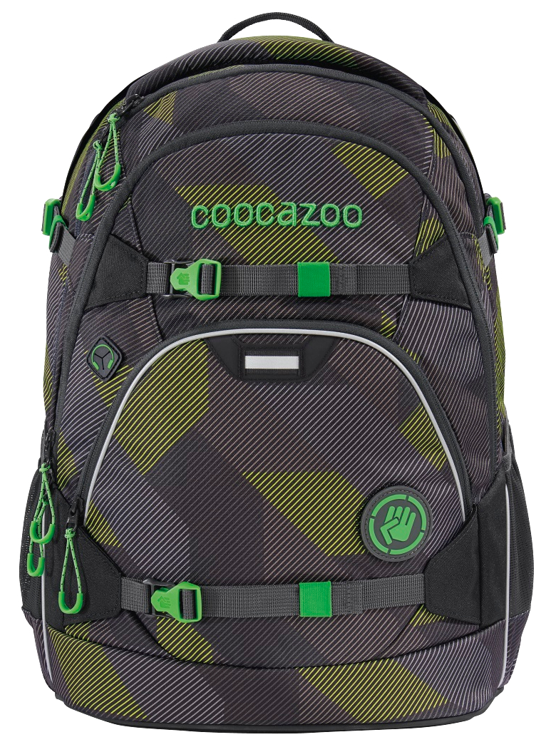 Coocazoo 'ScaleRale' Schulrucksack 1,2kg 30l polygon bricks grey