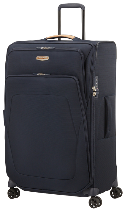 Samsonite 'Spark SNG Eco' 4-Rad Trolley erweiterbar 79cm 124/140l 3,7kg eco blue
