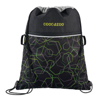 "Coocazoo ""RocketPocket"" Sportbeutel Laserbeam Black"