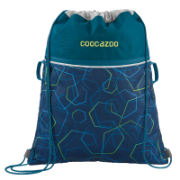 "Coocazoo ""RocketPocket"" Sportbeutel Laserbeam Blue"