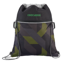 "Coocazoo ""RocketPocket"" Sportbeutel Polygon Bricks Grey"
