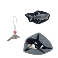 "Step by Step ""Magic Mags Schleich S"" Wechselmotiv 3-tlg. Wild Life Orca"
