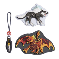 "Step by Step ""Magic Mags Schleich S"" Wechselmotiv 3-tlg. Eldrador Lava Dragon"