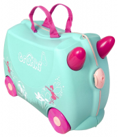 Trunki 'Flora die Fee' Ride-on suitcase Kindertrolley blau