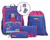 Step by Step 'Happy Dolphins' Cloud Schulrucksack-Set 5tlg.