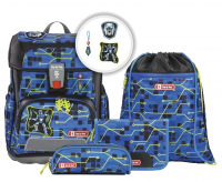 "Step by Step ""Future Robot"" Cloud Schulrucksack-Set 5tlg."