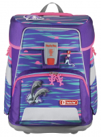 "Step by Step ""Shiny Dolphin"" Space Schulrucksack-Set 5tlg."
