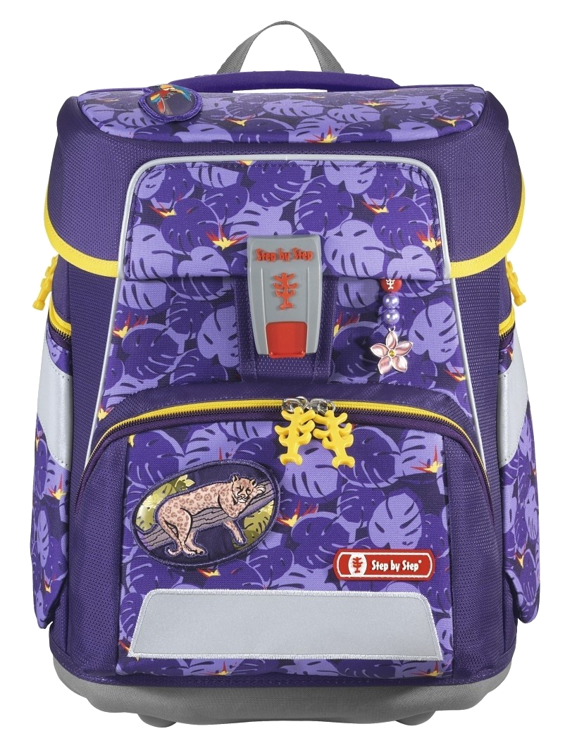 Step by Step 'Jungle Cat' Space Schulrucksack-Set 5tlg.
