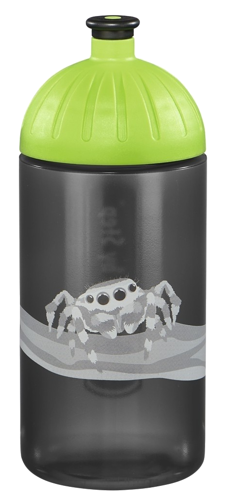 Step by Step 'Jumping Spider' Trinkflasche 0,5l grau