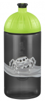 "Step by Step ""Jumping Spider"" Trinkflasche 0,5l grau"
