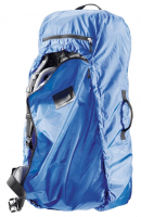 "Deuter ""Transport Cover"" Transport- und Regenhülle 60-90l Taffeta-Nylon coolblue"