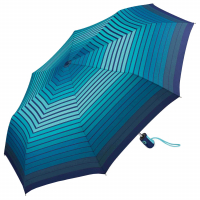 "Esprit ""Easymatic light"" Faltschirm Automatik auf/zu gradient stripes blue"