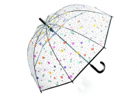 "Happy Rain ""Essentials"" Langschirm Long Domshape dots and stars"