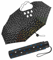 "Happy Rain ""Essentials"" Faltschirm Super Mini Farbwechsel bei Regen waterreactive"