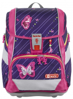 "Step by Step ""Shiny Butterfly"" 2in1 Plus Schulrucksackset 6tlg 19l 1200g"