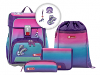 "Step by Step ""Future Sea"" Cloud Schulrucksack-Set 5tlg. aus Ocean Plastik"