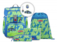 Step by Step 'Fancy Police' Space Neon Schulrucksack-Set 5tlg.