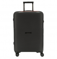 "March ""Bel Air"" 4-Rad Trolley Bordgepäck 55cm 2,2kg 38l Polypropylene black/orange"