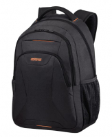"American Tourister ""At Work"" Laptop Businessrucksack bis 17,3 Zoll 34l 0,7kg schwarz/orange"