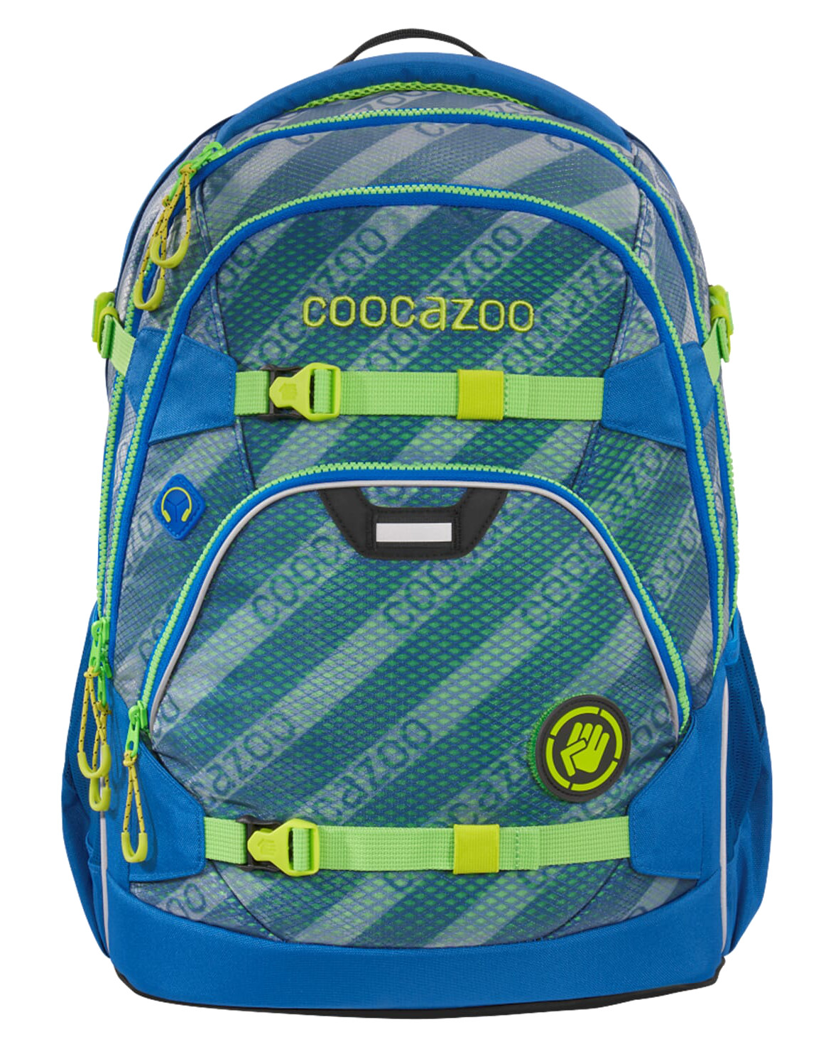 Coocazoo 'ScaleRale' Schulrucksack Limited Edition 1,2kg 30l MeshFlash neonyellow