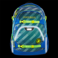 "Coocazoo ""ScaleRale"" Schulrucksack Limited Edition 1,2kg 30l MeshFlash neonyellow"