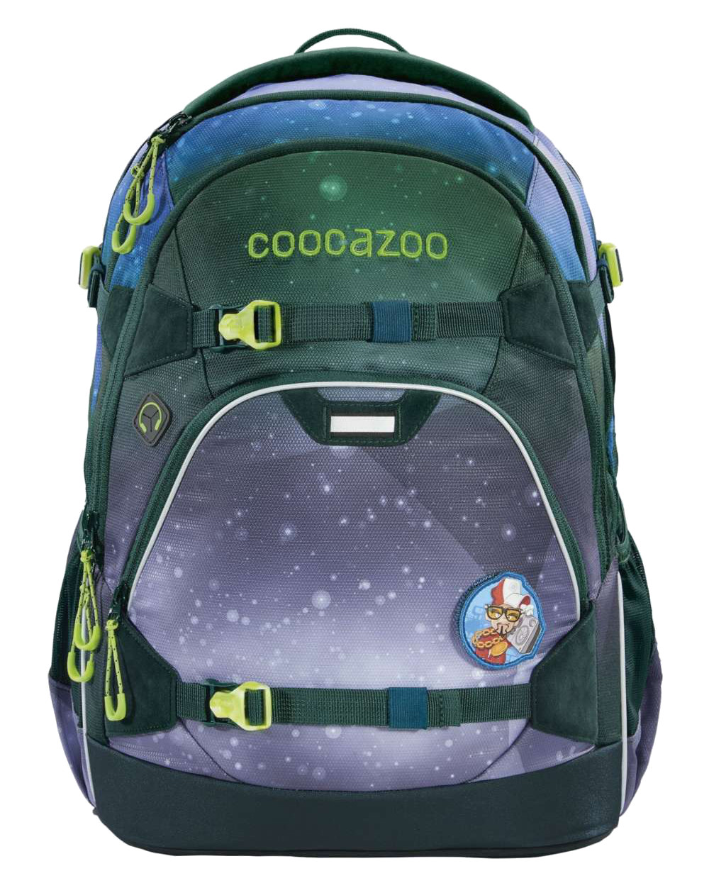 Coocazoo 'ScaleRale' Schulrucksack Limited Edition 1,2kg 30l OceanEmotion galaxy blue