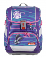"Step by Step ""Shiny Dolphins"" 2in1 Plus Schulrucksackset 6tlg 19l 1200g"