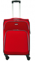 Franky 4-Rad Trolley M 69cm erweiterbar 3,2kg red sports