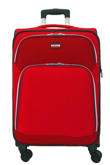 Franky 4-Rad Trolley L 79cm erweiterbar 3,8kg red sports