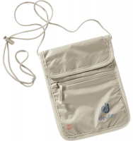 "Deuter "" Security Wallet II RFID Block"" Brustbeutel sand"
