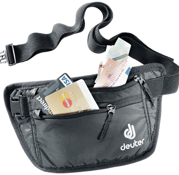 Deuter ' Security Money Belt I RFID Block' Gürteltasche black