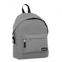 New Rebels 'Basic' Rucksack grau
