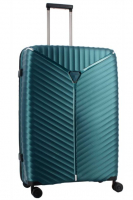 Franky 4-Rad Hartschalen-Trolley L 76cm 108l 3,4kg green metallic