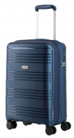 "Travelite ""Zenit"" 4-Rad Bordtrolley 55cm 2,5kg 36l blau"