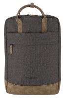Franky Business Rucksack 11l anthracit cognac