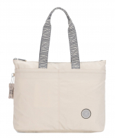 "Kipling ""Chika"" Boost It Shopping Bag ice ivory"