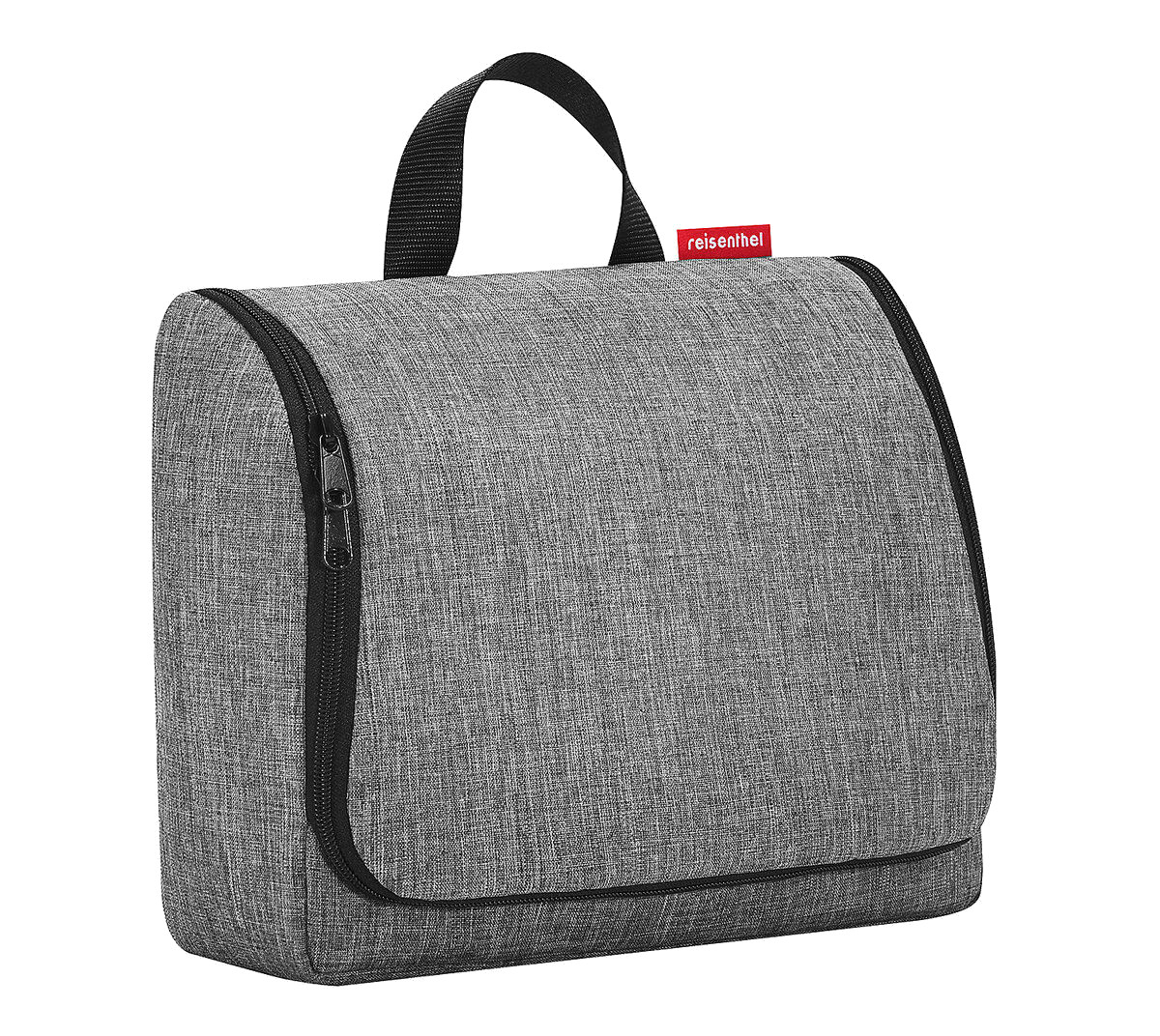 Reisenthel 'Toiletbag XL' twist silver