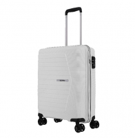 Travelite 'Nubis' 4-Rad Bordtrolley S 55cm 2,4kg 38l weiss