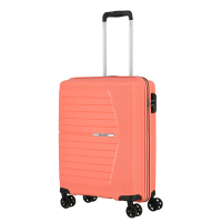 Travelite 'Nubis' 4-Rad Bordtrolley S 55cm 2,4kg 38l koralle