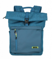 Travelite 'Proof' Rollup Rucksack mit Laptopfach 35l petrol
