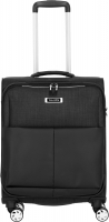 Travelite 'Proof' 4-Rad Bordtrolley S 55cm 2,6kg 36l schwarz