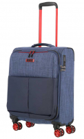 Travelite 'Proof' 4-Rad Bordtrolley S 55cm 2,6kg 36l marine