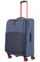 Travelite 'Proof' 4-Rad Trolley M erw. 68cm 3kg 61/66l marine