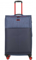 Travelite 'Proof' 4-Rad Trolley L erw. 78cm 3,6kg 94/100l marine