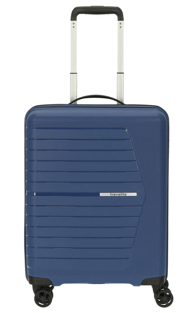 Travelite 'Nubis' 4-Rad Bordtrolley S 55cm 2,4kg 38l marine