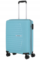 Travelite 'Nubis' 4-Rad Bordtrolley S 55cm 2,4kg 38l hellblau