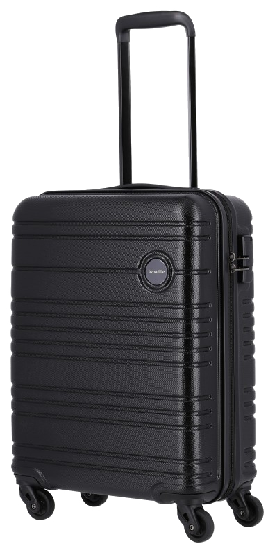 Travelite 'Roadtrip' 4-Rad ABS Trolley 55cm 2,6kg 36L schwarz