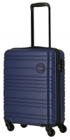 Travelite 'Roadtrip' 4-Rad ABS Trolley 55cm 2,6kg 36L marine