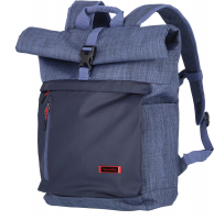 Travelite 'Proof' Rollup Rucksack mit Laptopfach 35l marine
